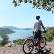 VTT electrique lac du salagou