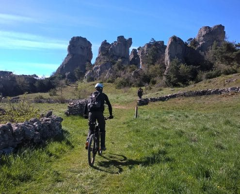 VTT enduro Grands Causses